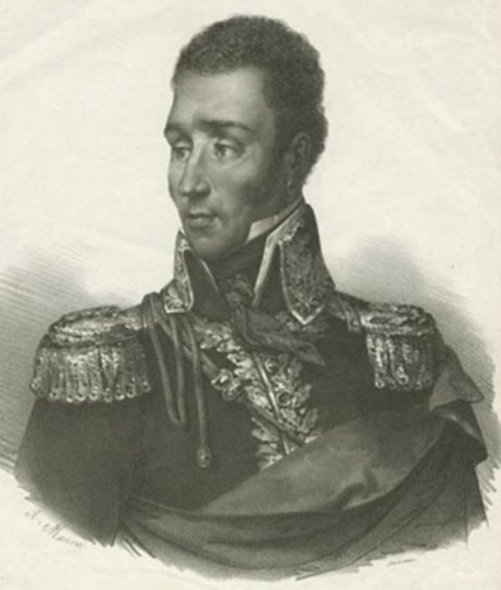 Ο πρόεδρος της Αϊτής Jean-Pierre Boyer (1776-1850)