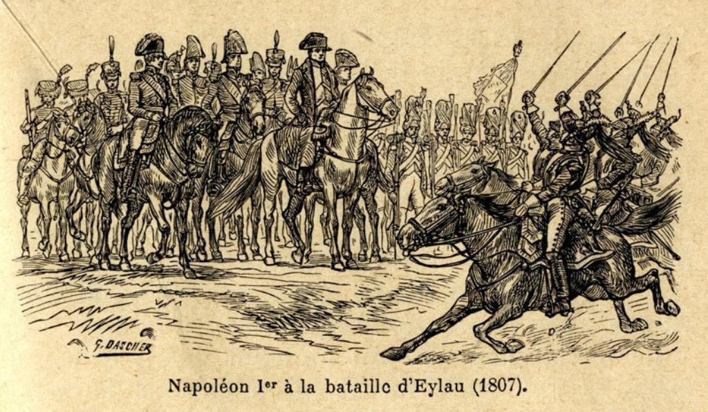 Ο Ναπολέων στη μάχη του Εϊλάου, 1807
