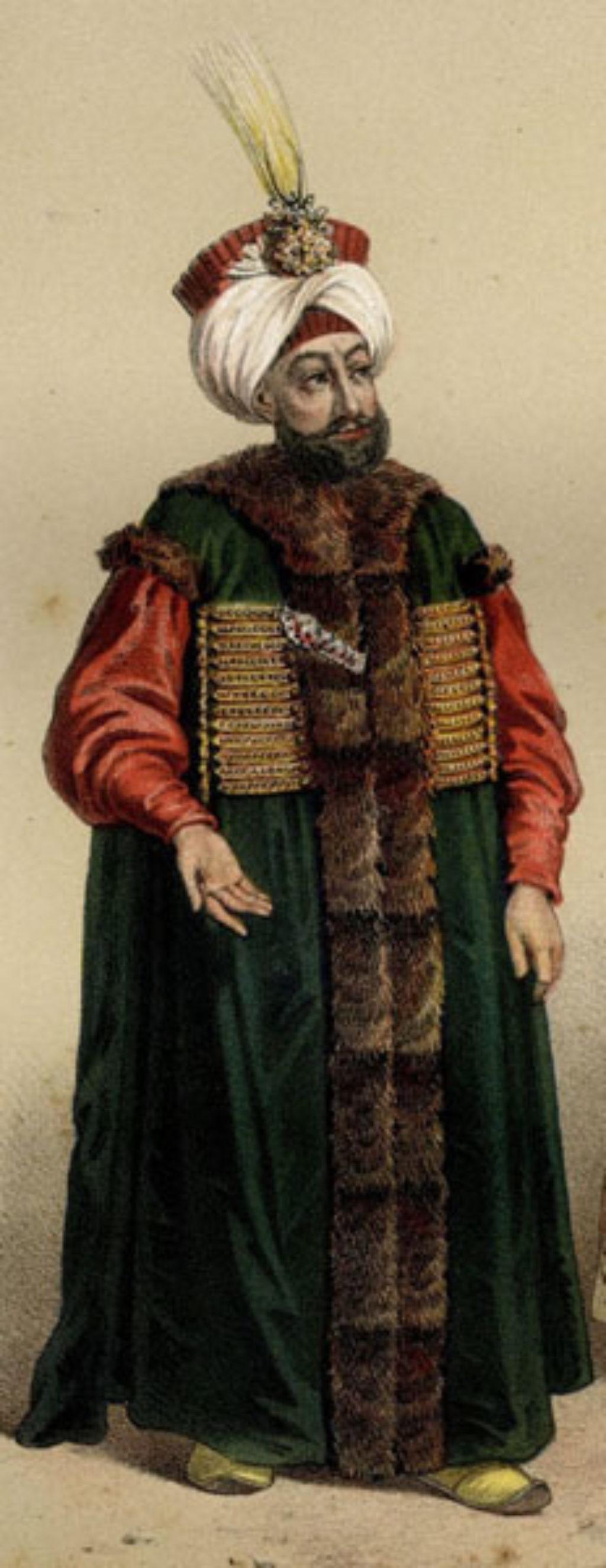 Ο σουλτάνος Μαχμούτ Β΄(1785-1839)