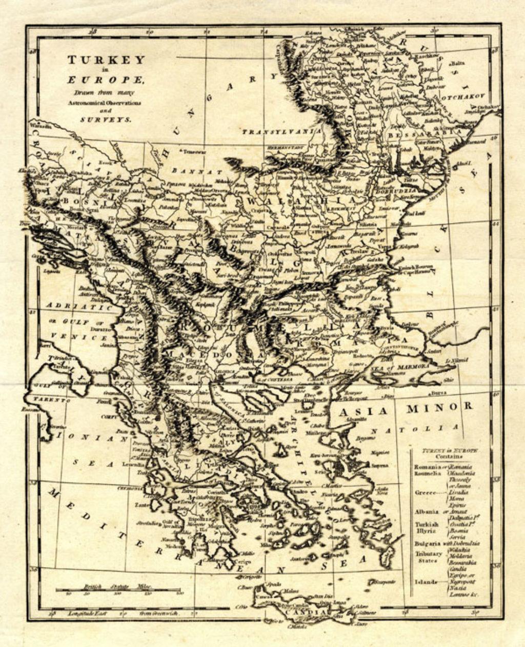 Τα οθωμανικά Βαλκάνια πριν την Επανάσταση