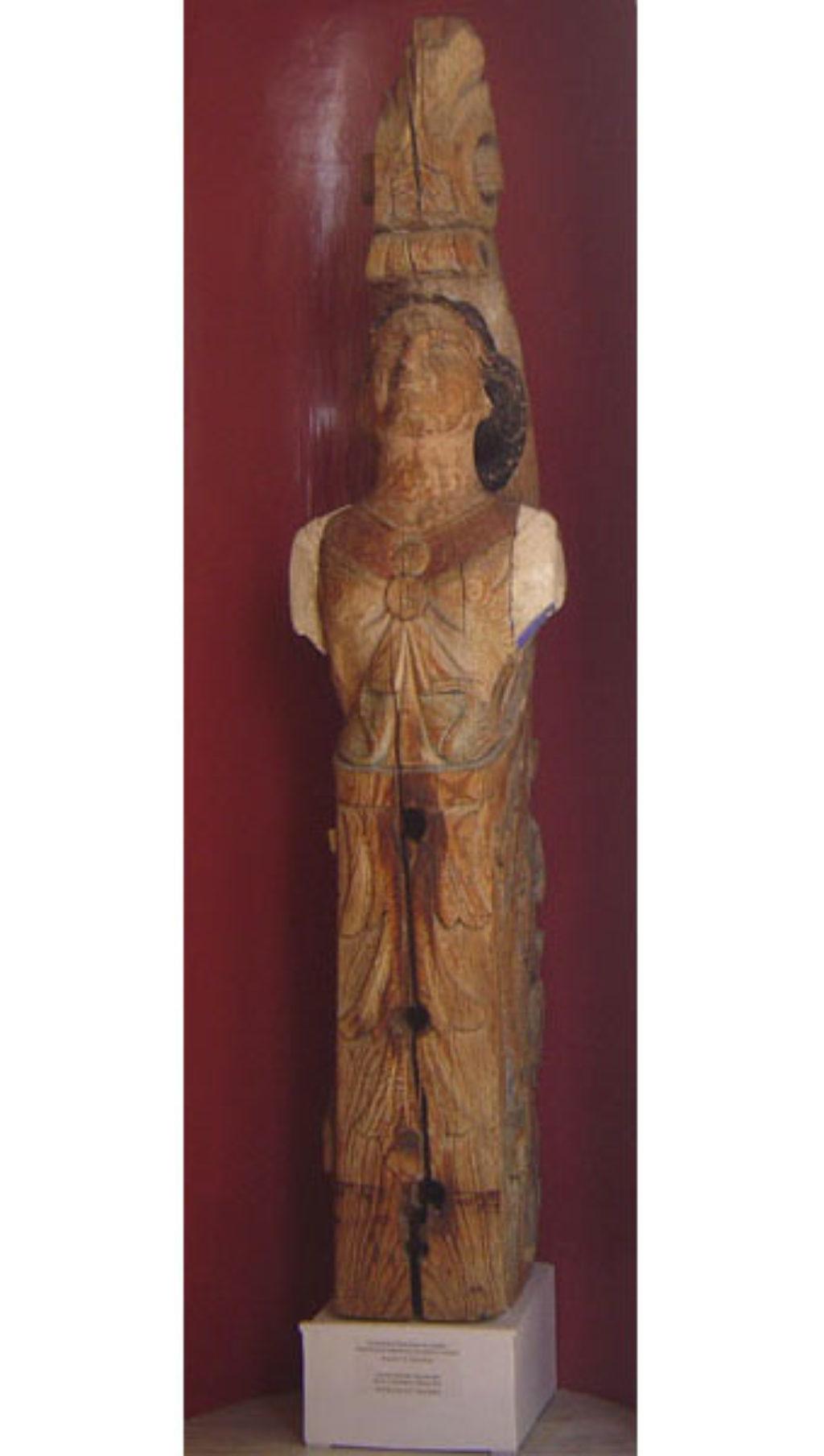 Ακρόπρωρο σφακιανού πλοίου, Ιστορικό Μουσείο Κρήτης