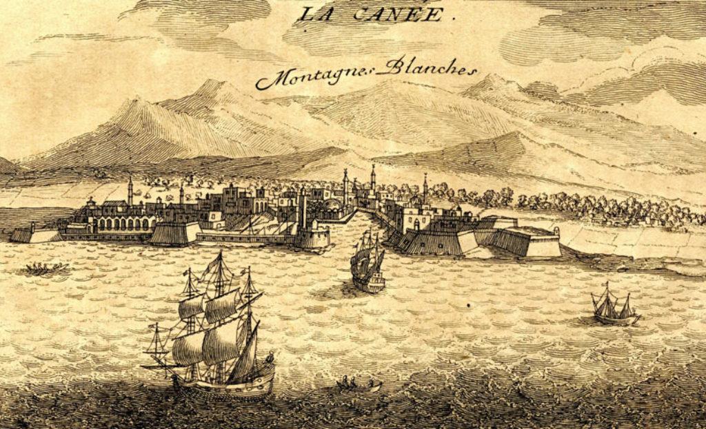 Τα Χανιά ( J. P. Tournefort, 1700 )