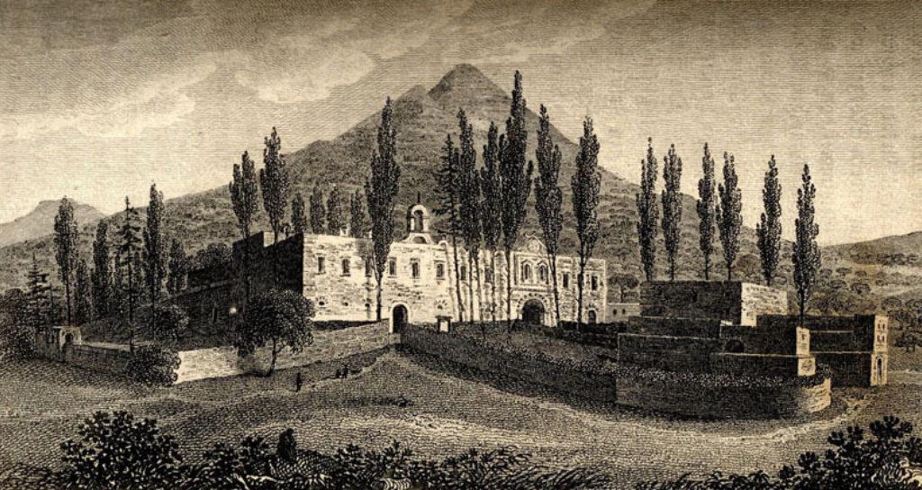 Η Μονή Αρκαδίου ( F. W. Sieber, 1817 )